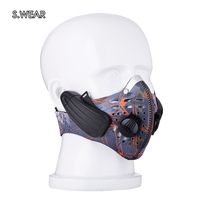 S.Wear Earphone Wireless Bluetooth4.0 Headphone with Mic face Mask Stereo Music Handfree Headset for Outdoor Exercise