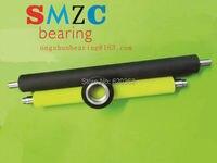 Rubber roller for printing machine Custom made Polyurethane bearing Elastomer rollers PU roller Rubber wheel Wear resisting