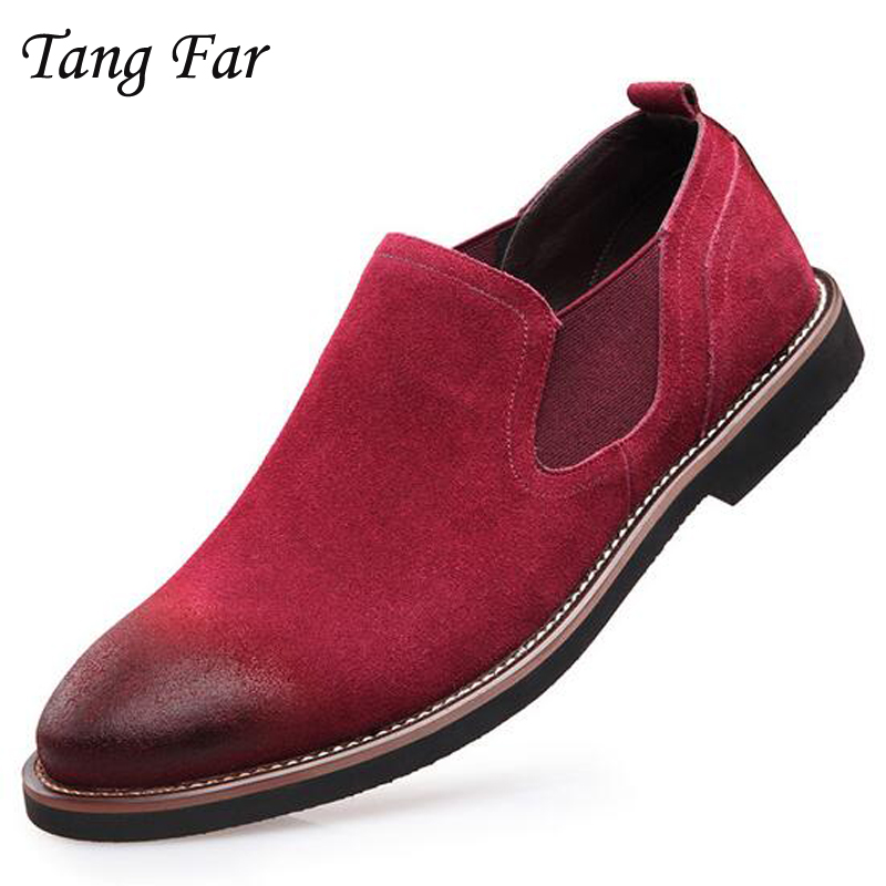 Men Genuine Leather Casual Shoes Fashion Suede Boat Shoes For Male Wearable Breathable Loafers Sapato Masculino Zapatillas kelme 2016 new children sport running shoes football boots synthetic leather broken nail kids skid wearable shoes breathable 49