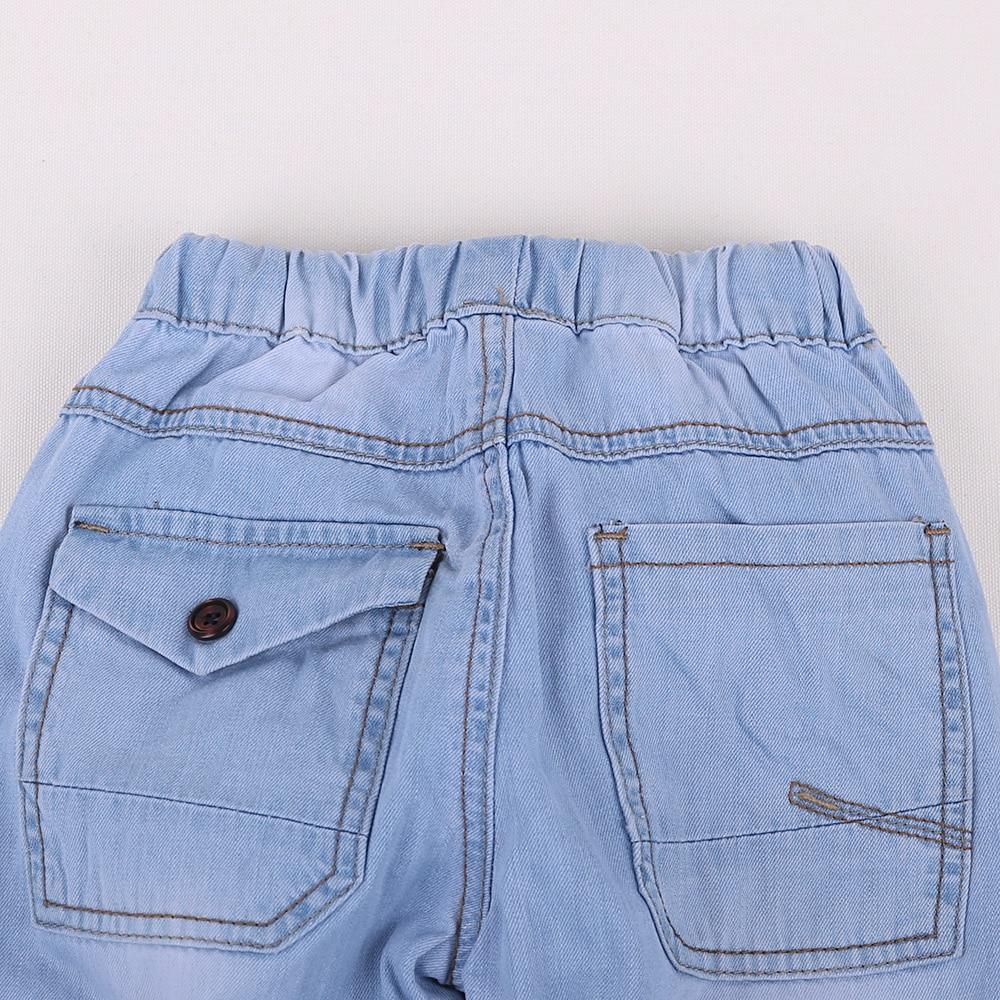 HE Hello Enjoy-pantalones vaqueros para niña, ropa para niño, pantalones vaqueros azules, pantalón informal, pantalones para bebé 2019