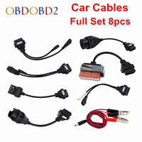 Top Selling Car Cables Adapters Car Connector Diagnostic TCS CDP Plus With 8 PCS Full Packages