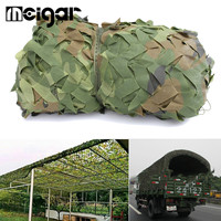 10x1.5m Anti UV Sunshade Cloth Net Woodland Camouflage Military Netting Army Camo Hunting Hide Camping Cover Garden Patio