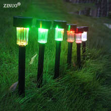 ZINUO 5pcs Solar Led Lawn Light Plastic Spotlight Landscape Pathway Lawn Garden Yard Sun Light Waterproof IP65 Outdoor Lighting