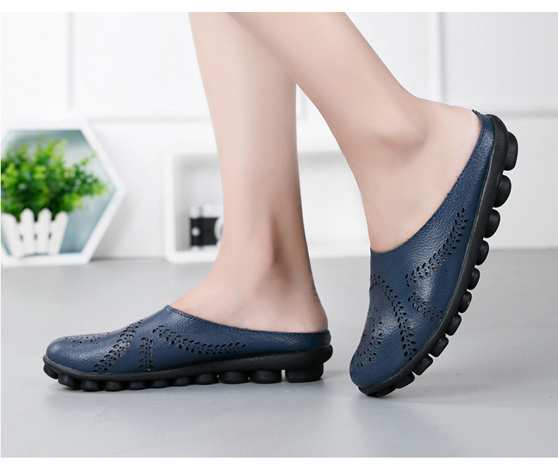 XY 991 Cut Outs Women's Summer Flats Shoes -17