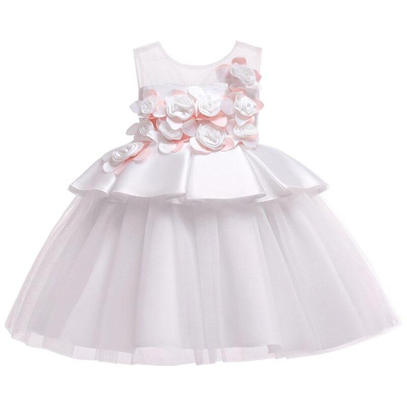 HTB1 l5aRCzqK1RjSZFHq6z3CpXap Kids Dresses For Girls Elegant Princess Dress Christmas Children Evening Party Dress Flower Girl Wedding Gown vestido infantil