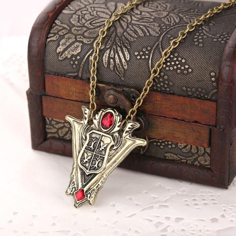 Twilight Saga Volturi Crest Pendant Necklace