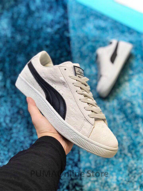 e7c147aa078 New Arrival PUMA x Panini Suede Classic Sneaker Unisex  Men s  Women s  Sneaker Badminton Shoes Size35.5-44