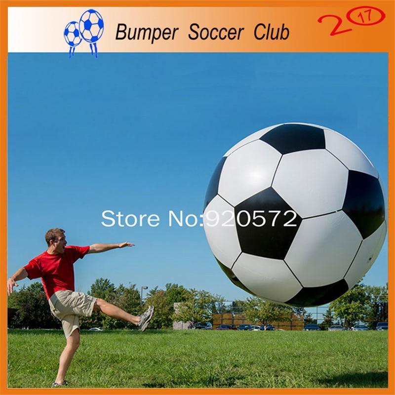 1,5 м надувной пляжный мяч Футбол игрушки мяч гигантский отдых на открытом воздухе спорта игрушки завышенным Пластик мяч летние каникулы игр