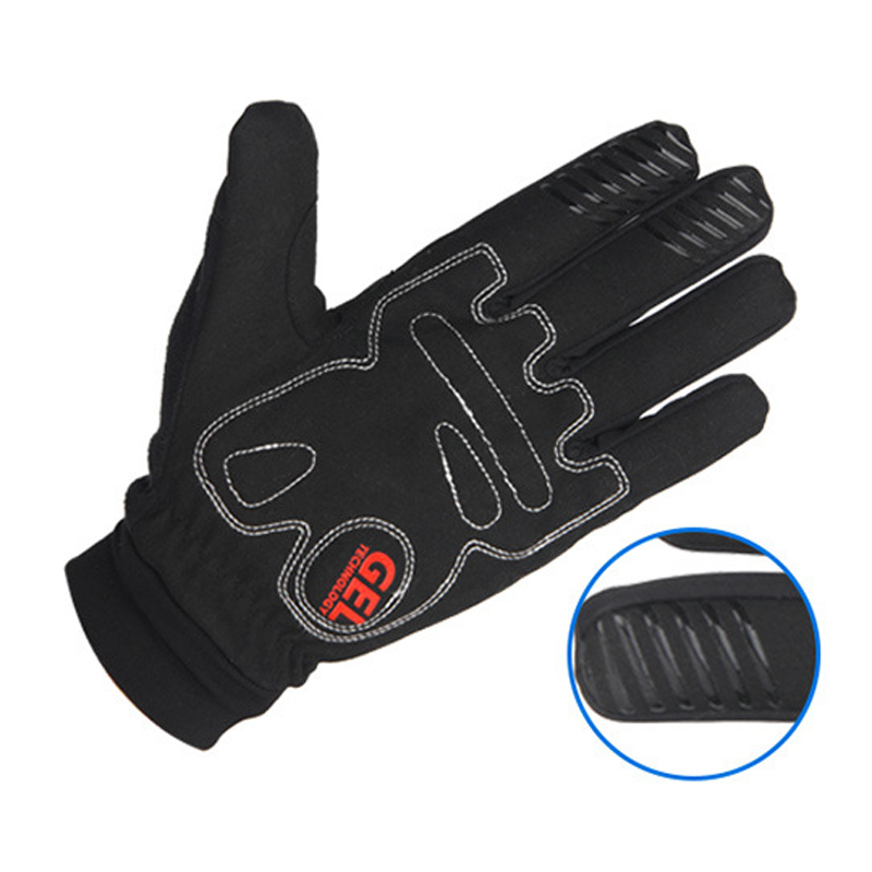 GIYO Bike Touch Screen Winter Gloves Warm Fleece Bicycle Full Finger Waterproof