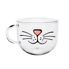 Funny Cat Beard Mug