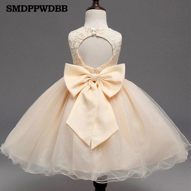 a561091f73 SMDPPWDBB Łuk Dziewczyna Sukienki na Wesele Junior Korowód Komunia Sukienka  dla Dziewczynek Maluch Pierwsze Święte Koronki