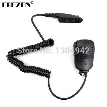 цена на Shoulder Remote Handheld Mic Microphone Speaker For Motorola Walkie Talkie Radio GP140 GP320 GP328 GP329 GP338 GP339 GP340 GP360
