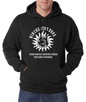 Supernatural Winchester Hoodies 2016 Hot Sale Autumn Winter Men Sweatshirts Fleece SPN Hip Hop Hoodie Men