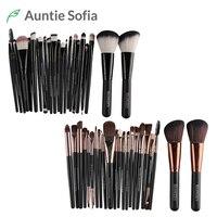 22pcs Makeup Brushes Set Pincel Maquiagem Blusher Eyeshadow Powder Foundation Eyebrow Lip Brush Professional Cosmetic Brushes