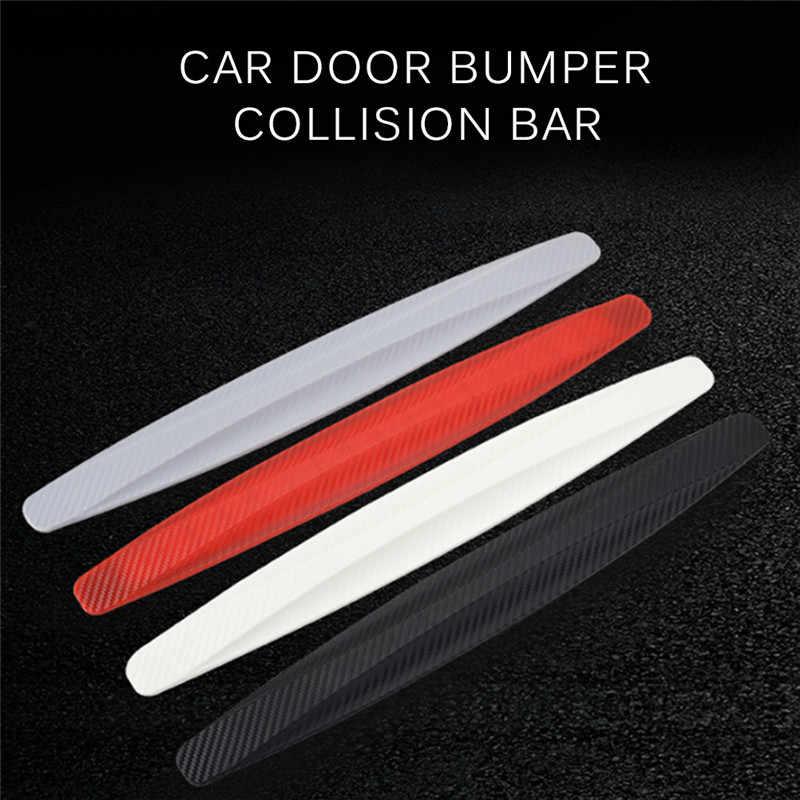 1 paire de pare-chocs de voiture protecteur de coin bandes anti-rayures autocollant Protection protecteur de corps autocollant en caoutchouc