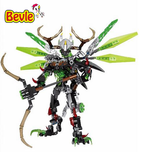 XSZ 612-2 Biochemical Warrior BionicleMask of Light Bionicle Umarak Uxar Building Block Compatible with Legoings Bionicle Toys