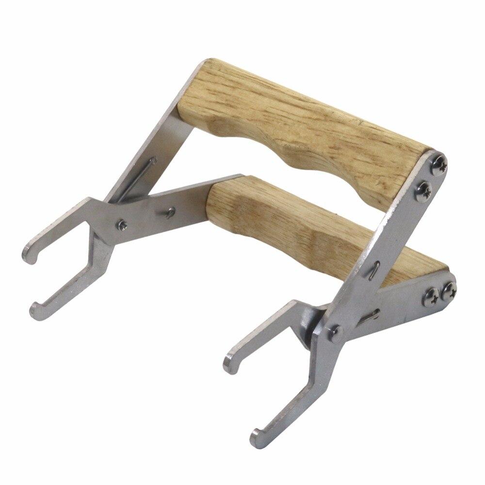 Apicultura equipo profesional de madera de mango colmena Marcos ...
