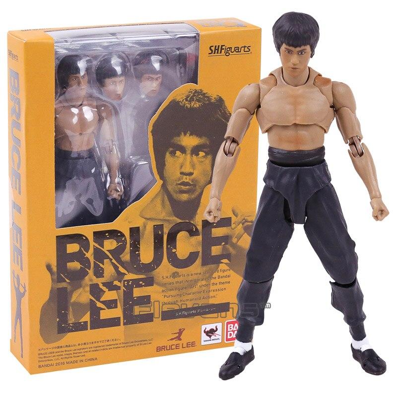 SHF S.H.Figuarts Bruce Lee PVC Action Figure Collectible Model Toy 14cm shfiguarts batman injustice ver pvc action figure collectible model toy 16cm kt1840
