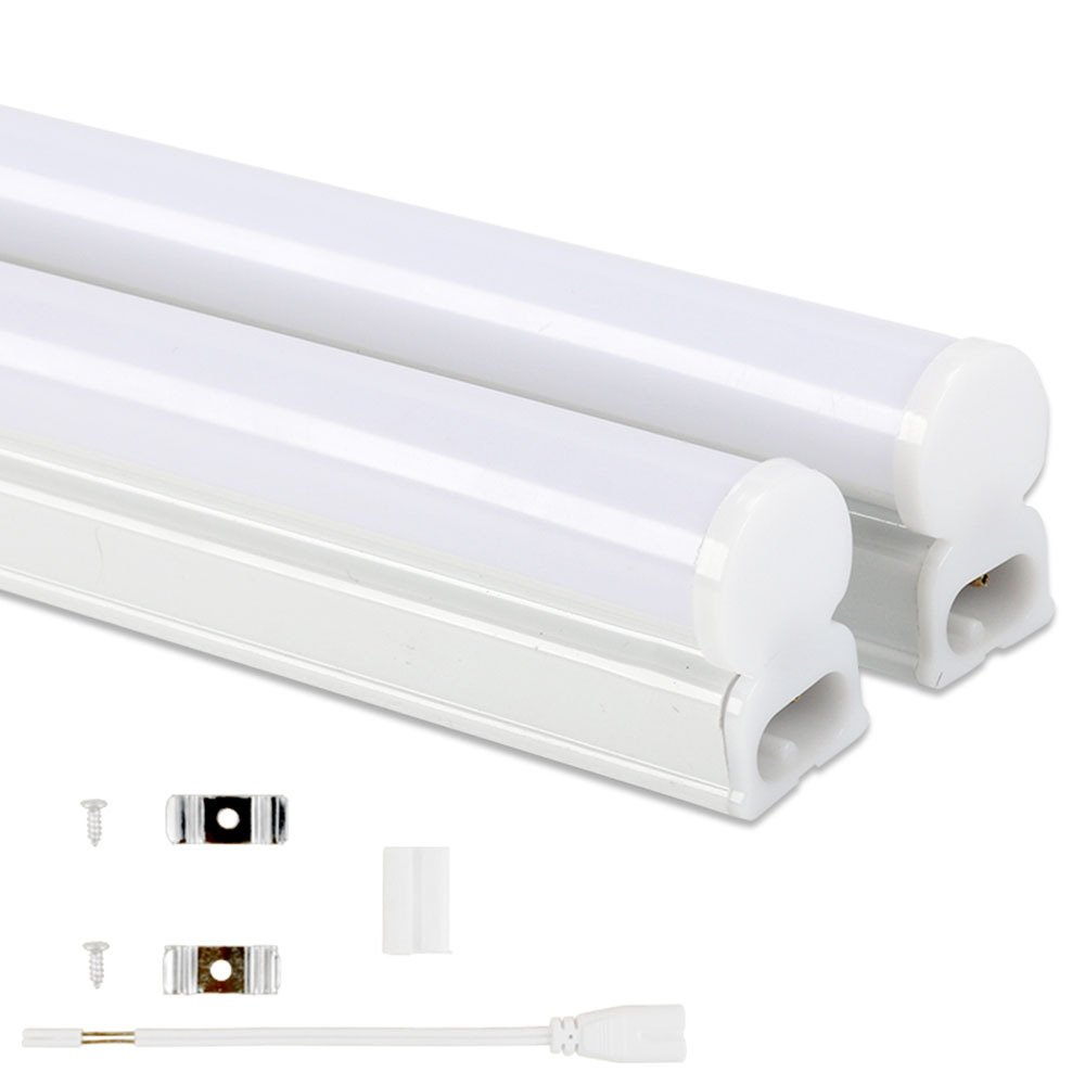 <font><b>LED</b></font> Tube <font><b>T5</b></font> Lamp 220V PVC Plastic Fluorescent Light Tube 9W 14W <font><b>18W</b></font> <font><b>LED</b></font> Wall Lamp Warm Cold White image