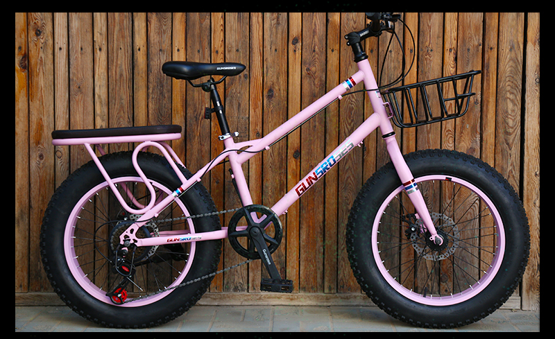 HTB1 l8JSmzqK1RjSZFHq6z3CpXaR KUBEEN mountain bike 21 speed 2.0 inch bicycle Road bike Fat Bike Mechanical Disc Brake Women and children bicycles