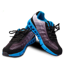 Sports Running Students running shoes anti – skid absorb sweat Breathable Rubber Air mesh Comfortable Outdoor Shoes