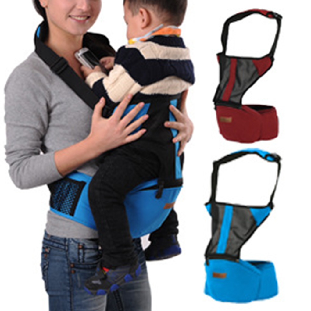 Aiebao Baby Carriers Hip Seat Carriers Sling Suspenders Waist Seat Cotton Baby Belt Stool Infant One Shoulder Carrier A6611 budou four seasons multifunctional baby suspenders newborn baby stool for children breathable suspenders belt