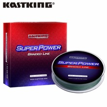 KastKing Brand PE Braided Fishing Line 4 Stands 8LB-50LB 137M Multifilament Fishing Line 3 colors for Lake River Fishing