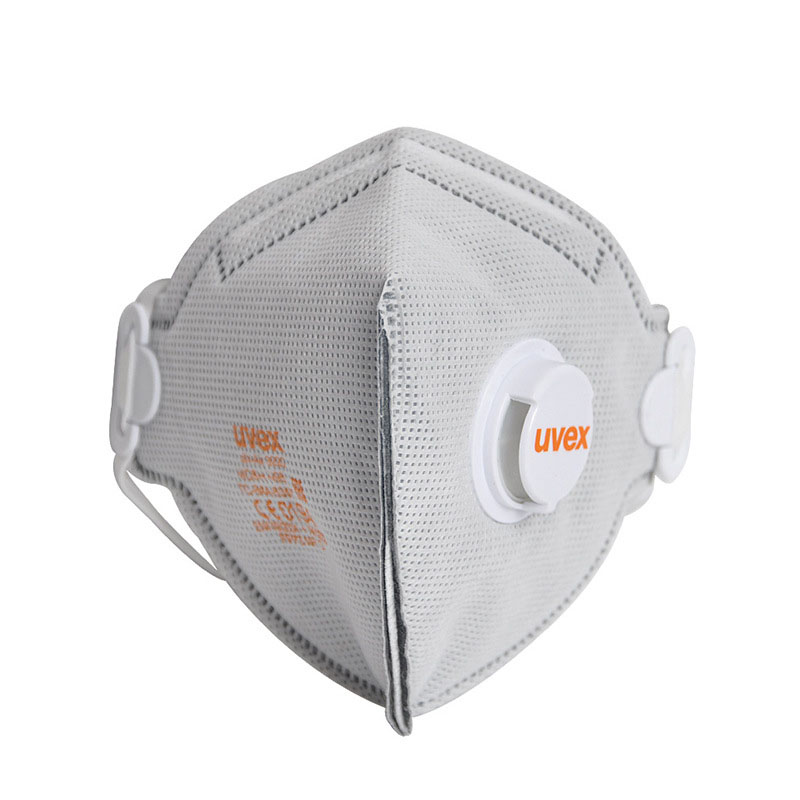 1 PC UVEX 3220 Dust Mask Anti-particulate Dust Respirator Breathable Dustproof FFP2 Activated Carbon Filtration Safety Masks