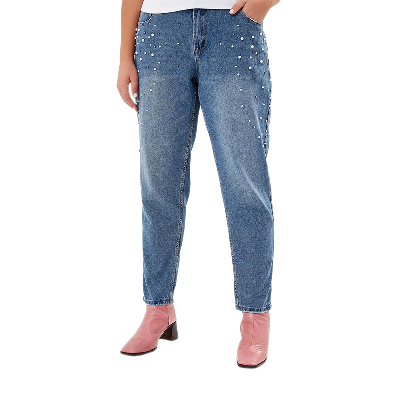 Jeans MODIS M182D00085 pants clothes apparel for female for woman TmallFS c680251bf50