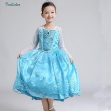 Princess Elsa Costume Sequin Long Sleeve With Cape Dress Up for Girl Halloween Cosplay Christmas Birthday Party Outfit  2018 New muababy girl anna dress up clothes with cape children long sleeve floral applique snow queen cosplay costume for halloween party