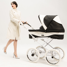 High Quality Luxury Baby Stroller Chbaby Leather baby car fo