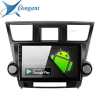 fognent IPS 10.2 Display Android 9.0 Car Navigation Stereo Multimedia Player for Toyota Highlander 2009 2010 2011 2012 GPS Map