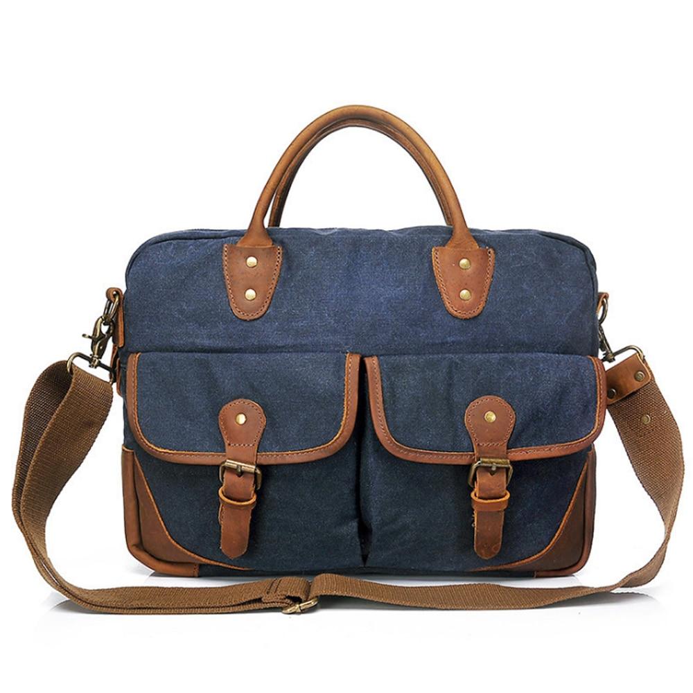 25da738e801b Мужские сумки 2019 новая парусиновая сумка-мешок Основная сумка на плечо  Bolsa Masculina Винтаж Sacoche