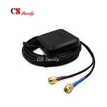 Multi Antennen GNSS 4G LTE ANTENNE, GPS/GLONASS/GALILEO & 4G/3G/2G Klebstoff Montieren Antenne mit sma stecker, 3m kabel