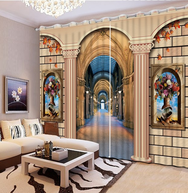 High Quality Costom beautiful bedroom curtains brick roman ... on Beautiful Bedroom Curtains  id=12833