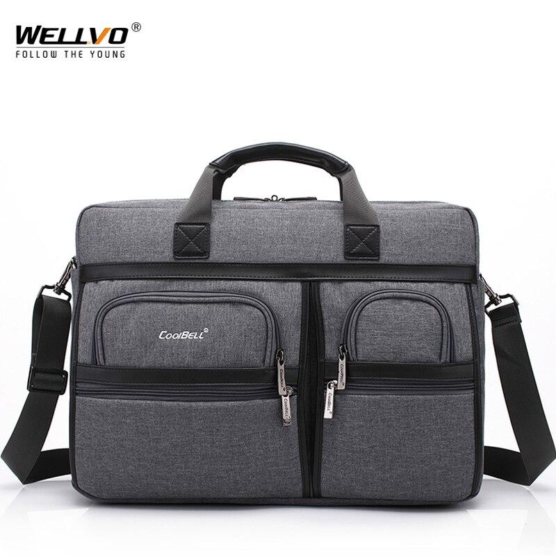 Waterproof Laptop Briefcases For Women Shockproof Men s Handle Shoulder Crossbody Bags Travel Big Tote Handbag