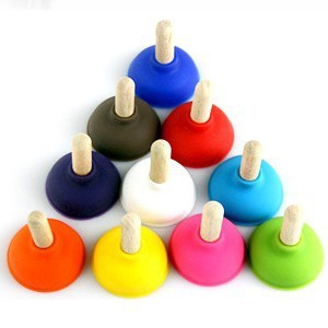 200 pcs Funny Plunger Sucker stand/holder(more colors) for mobile phone for iphone 4/4S MP3 lot very cute wholesale price