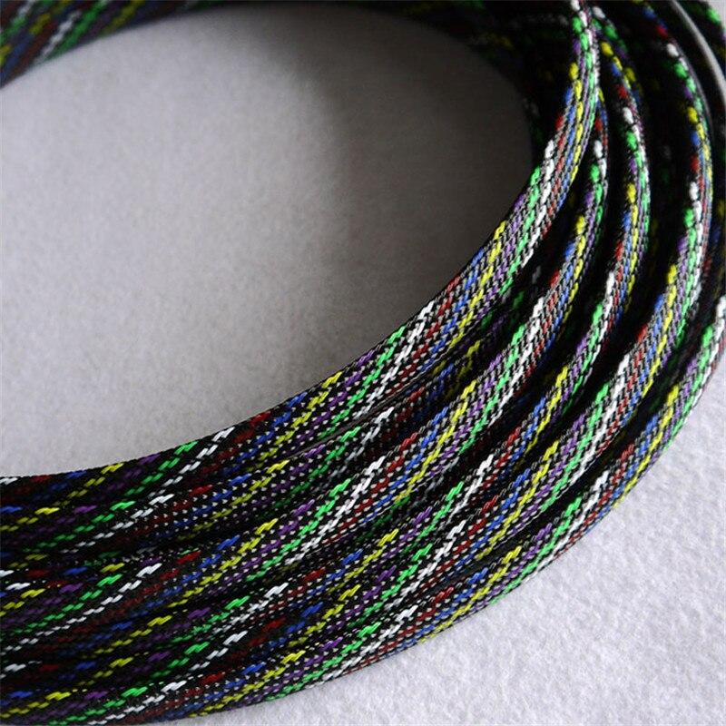 ᗜ Ljഃ7 colores mezclados de alta calidad 10mm trenzado PET ...