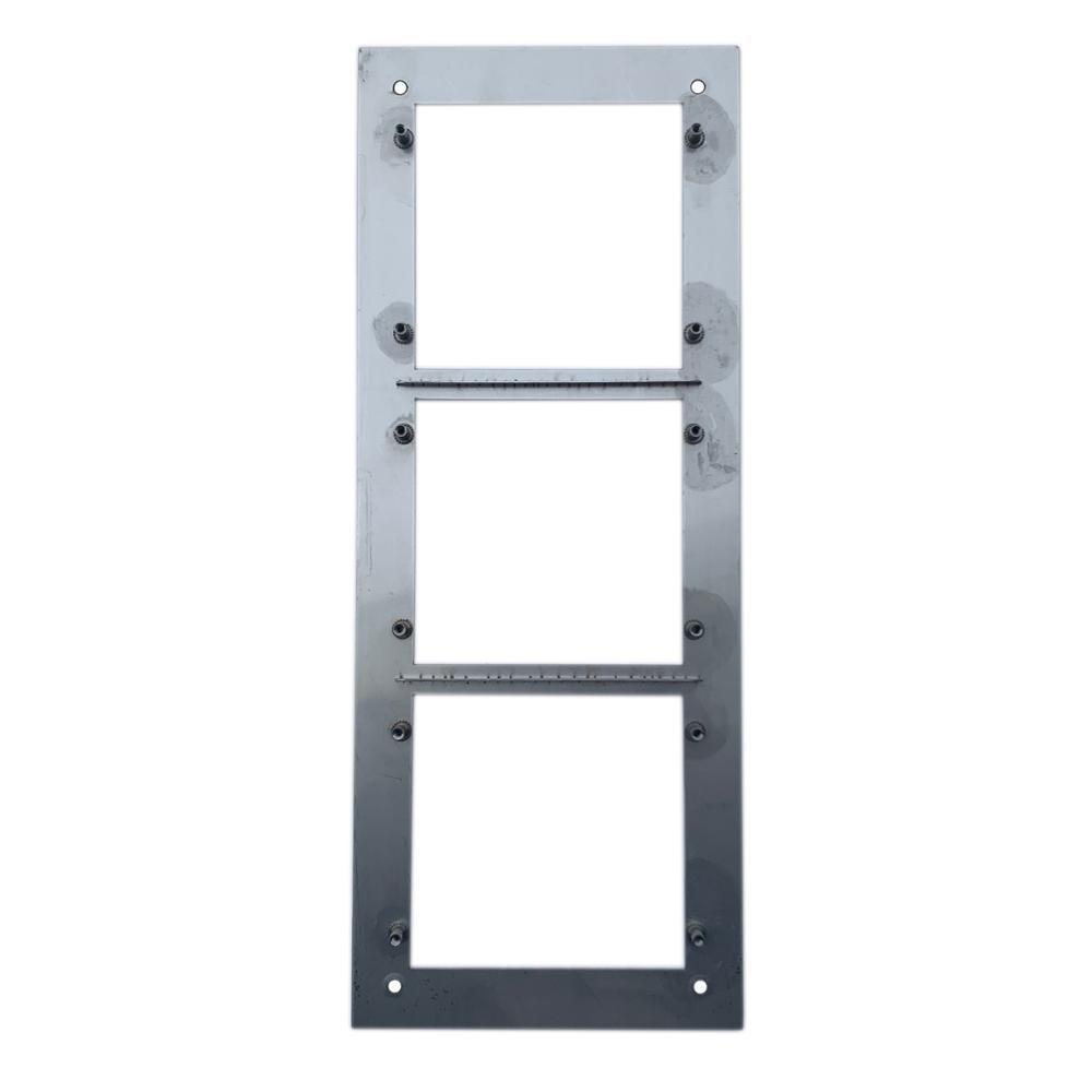 VTOF003 para VTO2000A-C Panel frontal para 3 módulos - 3