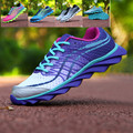 Nuevo Acolchado Hoja Casual Zapatos Hombres Deporte Al Aire Libre Entrenadores Portátil Parejas antideslizante Transpirable Zapatos de Zapatillas Deportivas