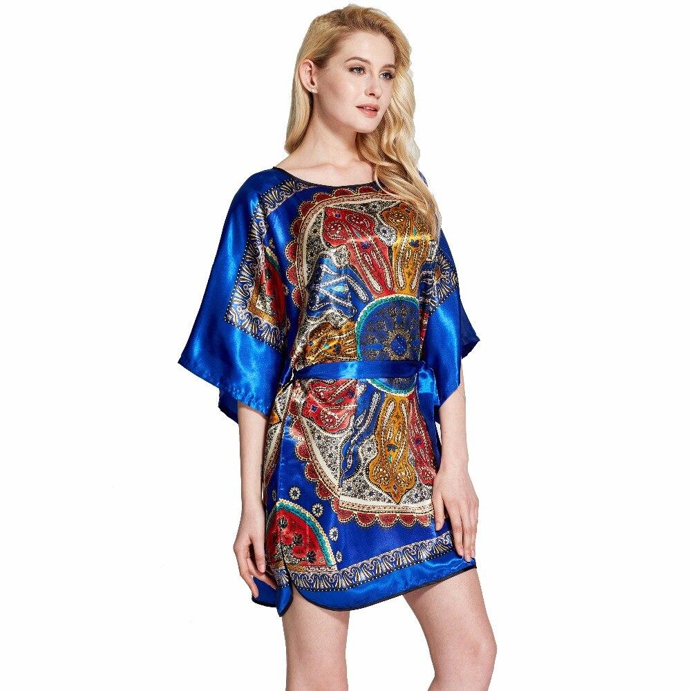 Sleepwear Robe Indoor Clothing Female Underwear Pyjamas women Bathrobe Nightgown Home Cl ...