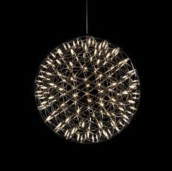 Round Fireworks Shape Droplight Pendant Lustre Luxury Modern Design Lighting Free Shipping PL38 rodania 25115 48