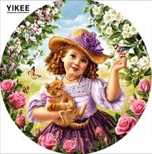 ФОТО diamond embroidery,angel,full square diamond painting cross stitch,girl,rhinestone painting angel a6216