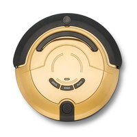 Automatic Robotic Vacuum Cleaner With 300ML Water Filter For Home With Remote Control Automatic Water Tank
