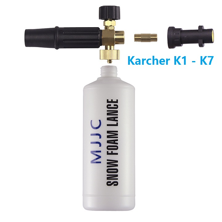 Snow Foam Lance Foam Cannon HP compatible with Karcher K Series pressure washer