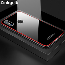 Чехол для Xiaomi Mi 8 SE, Роскошный Жесткий чехол из алюминиевого сплава с закаленным стеклом, защитный чехол для телефона Xiaomi Mi 8