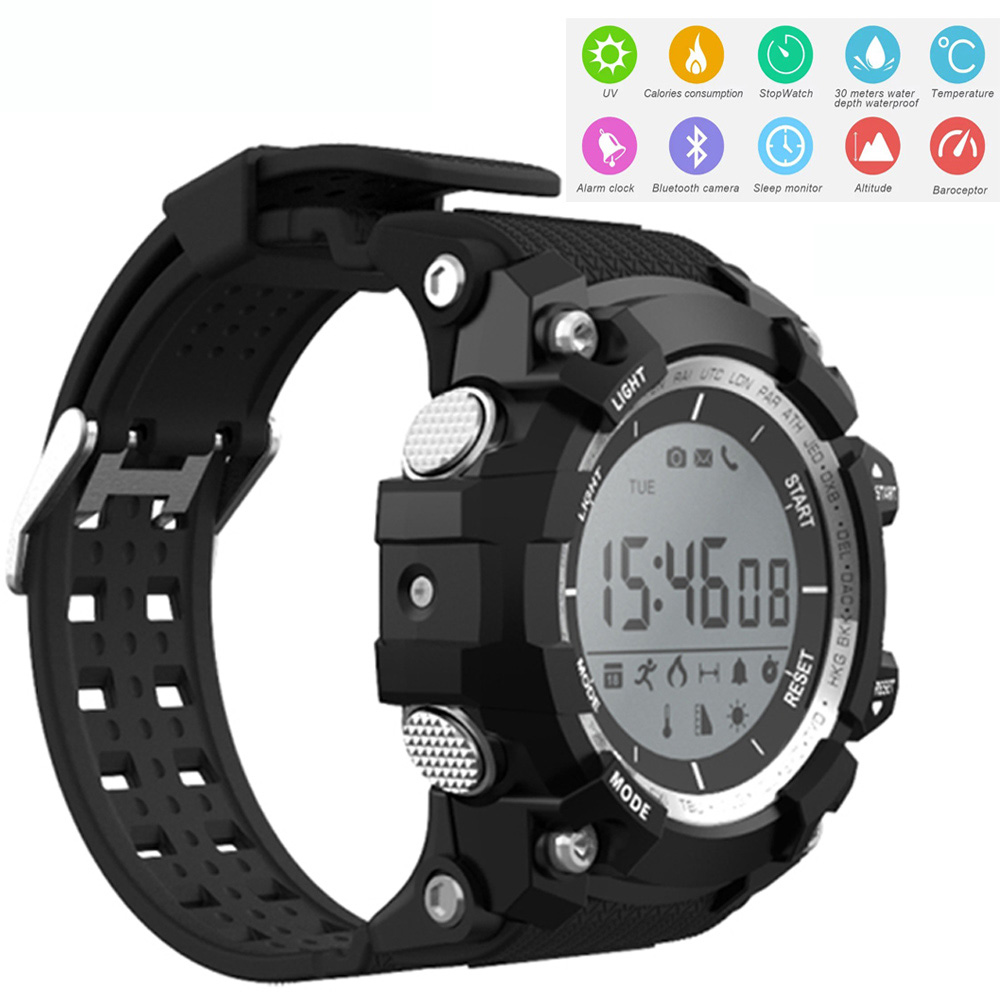Multi functional Sport Smart Watch Health Wristwatch Calories Pedometer Sleep UV Monitor Clock Waterproof Bluetooth Watches