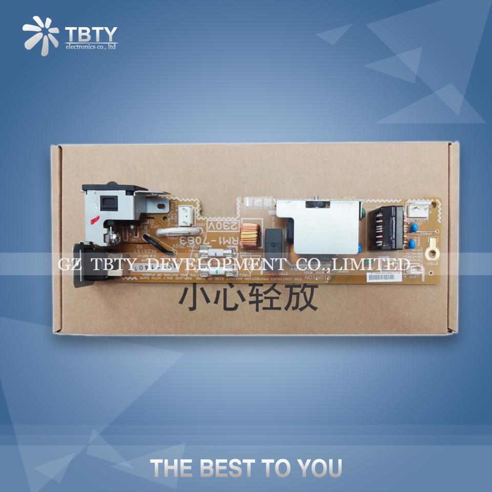 Printer Power Supply Board For HP 1415 CM1415 CM1415FN HP1415 RM1-7083 Power Board Panel On Sale 2420 2400 power supply board rm1 1415