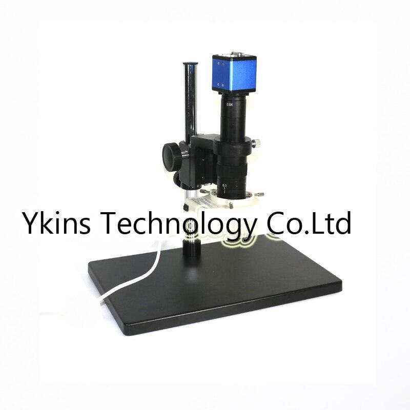 180X industriale VGA microscopio video Digitale della macchina fotografica + stereo grande supporto da tavolo + 56 ha condotto le luci per la saldatura BGA di riparazione180X industriale VGA microscopio video Digitale della macchina fotografica + stereo grande supporto da tavolo + 56 ha condotto le luci per la saldatura BGA di riparazione