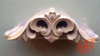 Wood dongyang wood carving fashion wood paste flowers flower door flower furniture flower bed wood 20 7cm